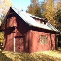 Garáž a dílna u chaty