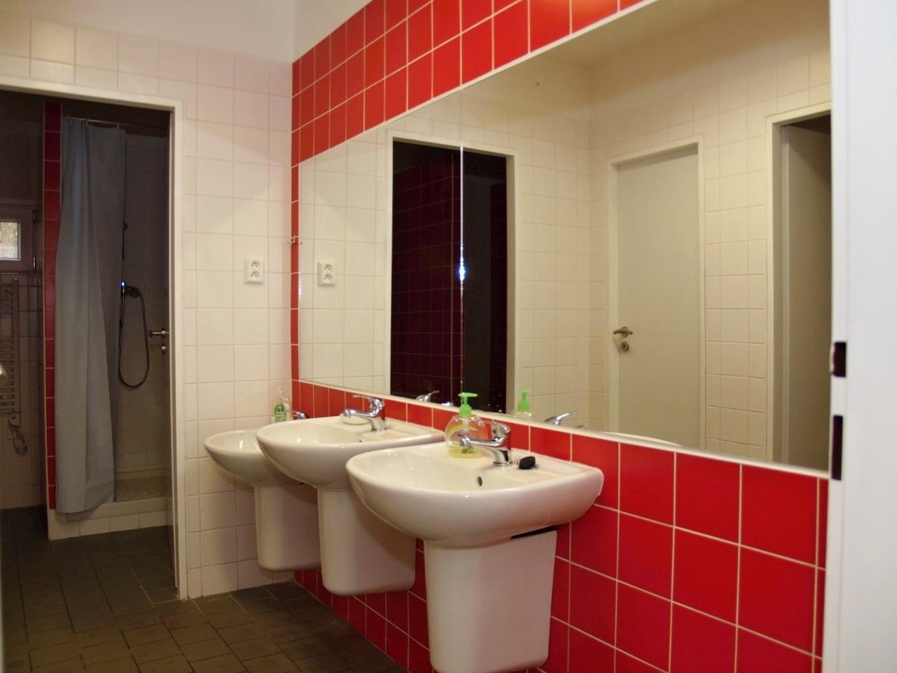 Koupelna a umyvadla (dívky)