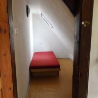Pokoj - přístěnek s jednou postelí