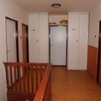 Prostory chaty - chodba před pokoji v 1. patře